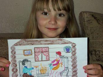 Литературный десант «Дети читают Пушкина»